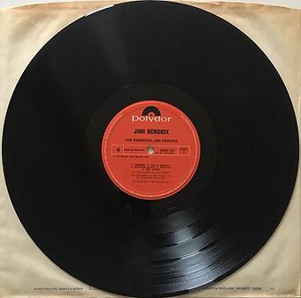 jimi hendrix collector vinyls LPs album/essential jimi hendrix / side 4 / 1978 england