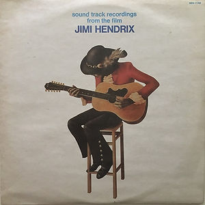 jimi hendrix vinyls 1973 /sound track recording from the film