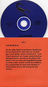 jimi hendrix bootlegs cds 1969/newport 1969 pop festival disc 3