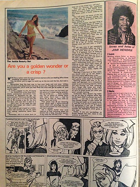 collector rotily magazine/jackie  5/8/67