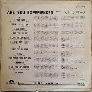 jimi hendrix /are you experienced