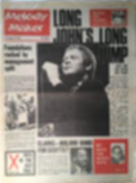 jimi hendrix collector newspaper/melody maker 18/11/1967