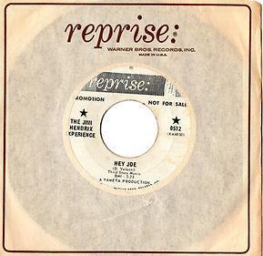 hendrix rotily vinyl collector/hey joe