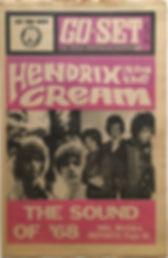 jimi hendrix newspaper/go set may 15 1968 hendrix and the cream