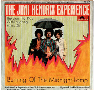 jimi hendrix rotily singles/the stars that play with laughing sam's dice