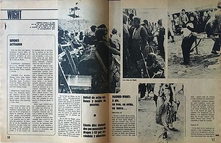 jimi hendrix magazines 1970 / mundo joven september 5,1970