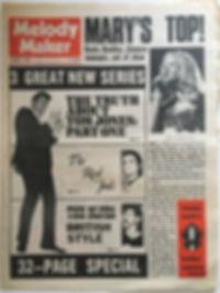 melody maker october 5 1968/jimi hendrix newspaper 1968