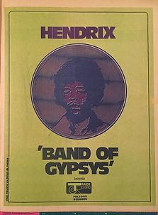 jimi hendrix rotily magazine collector/ oz magazine july 1970