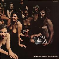 jimi hendrix rotily patrick vinyl collector/ electric ladyland / 1980 japan