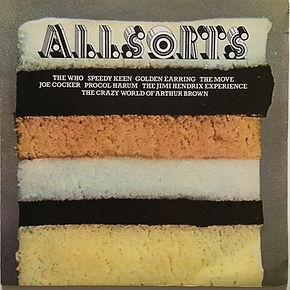 jimi hendrix vinyls albums/lps/ allsorts PIPPERMINT  track records 1973