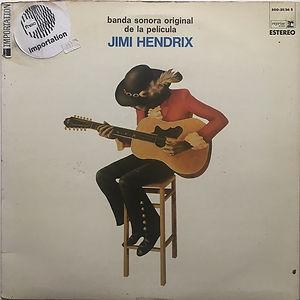 jimi hendrix vinyl album/ banda sonora original de la pelicula jimi hendrix 1973