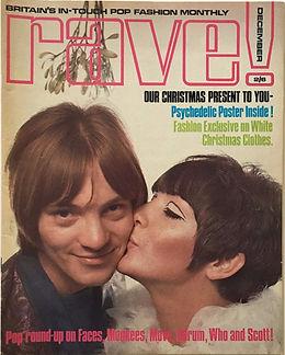 jimi hendrix collector magazine/ rave december 1967