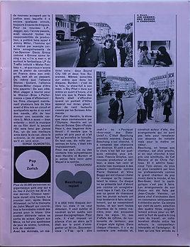 jimi hendrix magazines/ rock & folk  august/september 1968