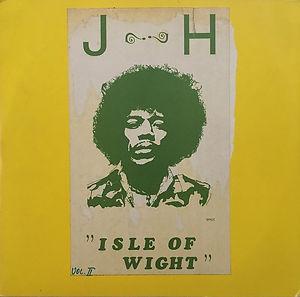 jimi hendrix bootlegs vinyls 1970 / j-h isle of wight   vol. 2