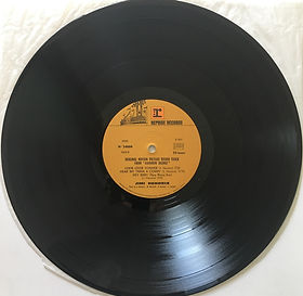 side b / rainbow bridge jimi hendrix vinyls album/1973