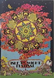 jimi hendrix memorabilia 1970/ programme  isle of wight festival 1970