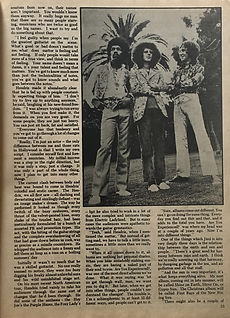 jimi hendrix magazines 1970 death/ hit parader yearbook 1970 / the gypsy sun