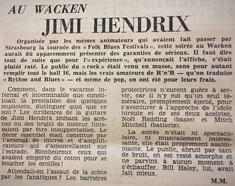 jimi hendrix  tour germany january 1969/jimi hendrix memorabilia 1969