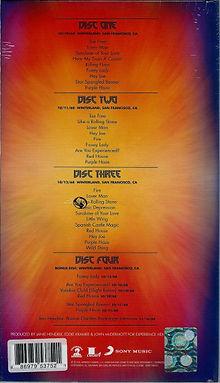 jimi hendrix family edition  / winterland  box cd 4