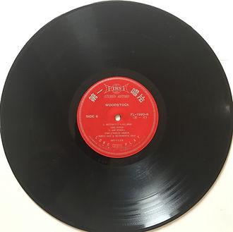 jimi hendrix vinyls album/woodstock 3lps taiwan 1972