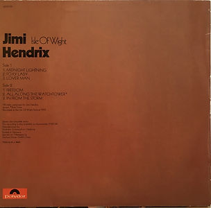 jimi hendrix album vinyl LP/isle of wight 1971 germany