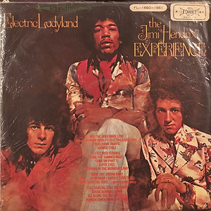 hendrix rotily vinyls collector/ electric ladyland 1973 taiwan