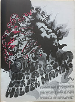 jimi hendrix magazine/ pop may 1968