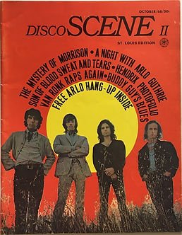 jimi hendrix magazine 1968/disco scene october 1968