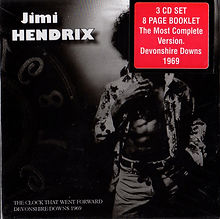 jimi hendrix cd bootlegs 69/3 cd set devonshire down 69