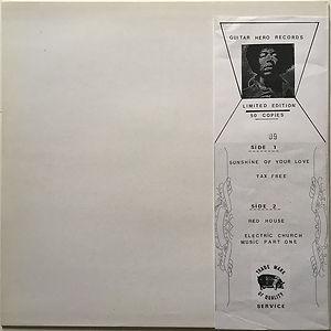 jimi hendrix bootleg vinyl album lps/jimi electric church music