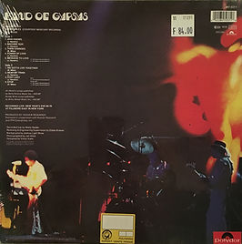 jimi hendrix collector vinyls LPs/band of gypsys holland 1991/bonus tracks/foxy lady/hear my train a coming/stop