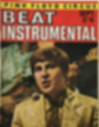 jimi hendrix collector magazine rotily/beat instrumental september 1967
