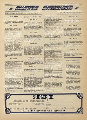 jimi hendrix newspaper 1969/the fifth estate 1969