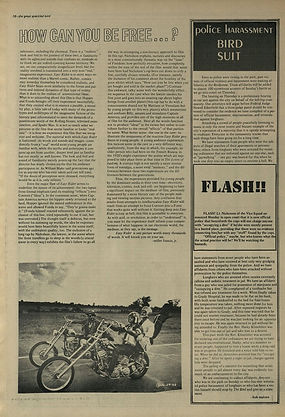 jimi hendrix newspaper 1969/the bird great speckled september 29 1969/eazy rider fil