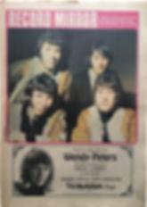 jimi hendrix newspaper/record mirror 3/2/68