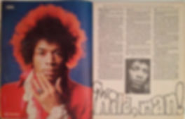 magazine collector hendrix/rave 8/67