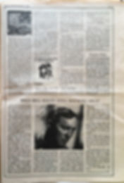 jimi hendrix collector newspaper/rolling stone N°1/hendrix hold /9/11/1967