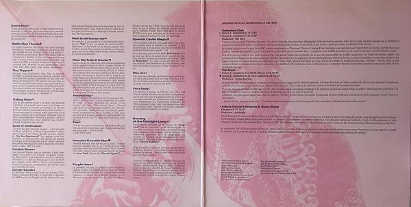 jimi hendrix vinyls album / radio one france