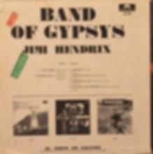 jimi hendrix rotily vinyls collector band of gypsys  1970 venezuela