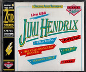jimi hendrix rotily patrick/ 2 CDs live USA