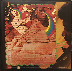 jimi hendrix vinyls album/rainbow bridge france 1971