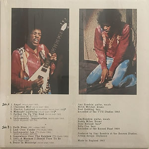 jimi hendrix bootlegs vinyl album/first rays of the rising sun