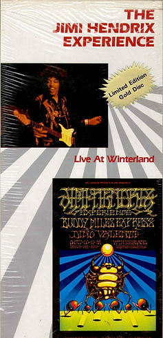 jimi hendrix  cd collector /  live at winterland 1968
