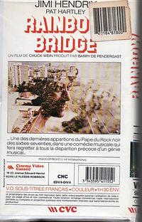 jimi hendrix collector video & dvd /rainbow bridge  france 1987