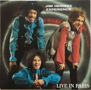 jimi hendrix bootlegs vinyls albums/live in paris / color swingin'pig