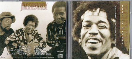 jimi hendrix bootlegs cds 1969/  power of soul