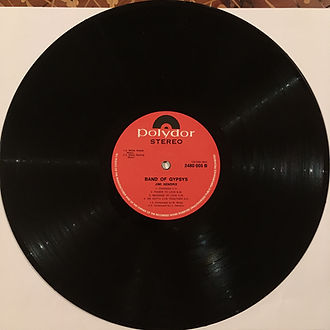 jimi hendrix  vinyls collector/ band of gypsys south africa 1970