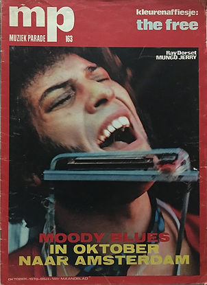 jimi hendrix magazines 1970 death/ mp muziek parade october 70 1970