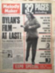 jimi hendrix newspaper 1968/melody maker november 2 1968