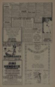 berkeley barb august 23/29 1968 jimi hendrix newspaper